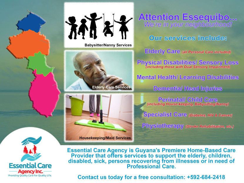 Bringing our services to Essequibo
